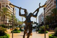 Salvador Dali sculpture. Stock Image