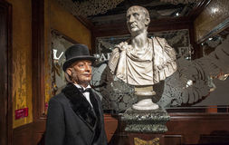 Salvador Dali Wax Figure Royalty-vrije Stock Afbeelding