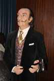 Salvador Dali Wax museum in Madrid. Wax museum in Madrid and Spain royalty free stock photos