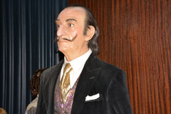 Salvador Dali Wax museum in Madrid. Wax museum in Madrid and Spain Stock Photos
