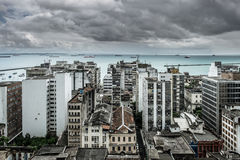 Salvador de Bahia, city scape. Royalty Free Stock Image