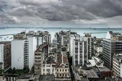 Salvador de Bahia stadsscape Royaltyfri Bild