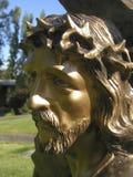 Salvador de bronce imagen de archivo