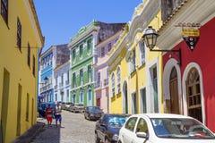 Salvador, el Brasil, arquitectura fotos de archivo