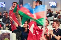 Salvador Sobral de Portugal la Eurovisión 2017 fotografía de archivo libre de regalías