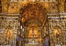 Salvador. View of Salvador in Bahia, Brazil showcasing the historic Convento de Sao Francisco church Stock Photo