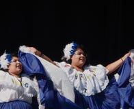 Salvadoran Dancers At Kaleido Festival Edmonton Alberta Stock Image