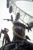 Salvadore Dali y el ojo - Londres Inglaterra Imágenes de archivo libres de regalías