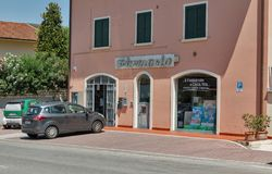Salvadori Pharmacy in Montopoli in Val d`Arno, Tuscany, Italy