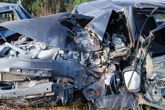 Salvage Car Accident Stock Image