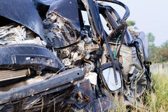 Salvage Car Accident Stock Photos