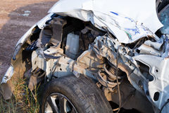 Salvage Car Accident Stock Photo