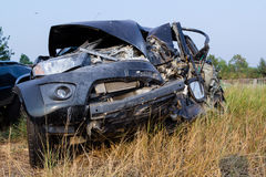 Salvage Car Accident Stock Images
