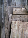 Salvaged Old Boards Royalty Free Stock Images