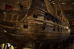 Salvaged warship Vasa Stock Photos