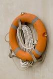 Salvagente arancione Fotografie Stock Libere da Diritti