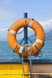 Salvagente del traghetto Fotografia Stock Libera da Diritti