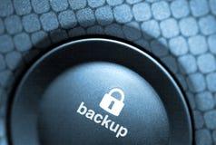 Salvaguardia-botón Fotografía de archivo libre de regalías