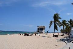 Salvaguardia della spiaggia Fotografia Stock Libera da Diritti