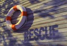Salvamento, bóia-anel Imagens de Stock