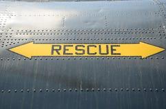 Salvamento da emergência Foto de Stock