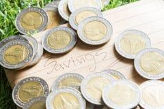 salvamento das finanças Fotos de Stock