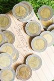 salvamento das finanças Foto de Stock