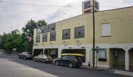 Salvamento do cão preto, Roanoke, Virgínia, EUA Imagem de Stock Royalty Free