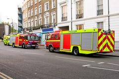 Salvamento do incêndio Fotos de Stock Royalty Free