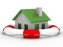 Salvamento dos bens imobiliários Fotografia de Stock