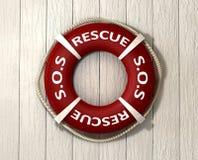 Salvamento Lifebuoy Fotos de Stock