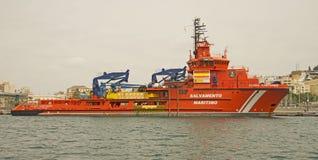 Salvamento Marítimo (Search & Rescue) Spain Stock Photo
