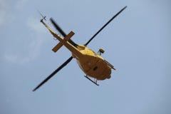 Salvamento por helicóptero Fotografia de Stock Royalty Free