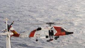 Salvamento por helicóptero Imagem de Stock
