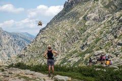 Salvamento por helicóptero Imagens de Stock Royalty Free