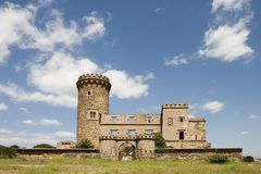Salvana Tower in Catalonia Royalty Free Stock Images