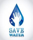 Salvar a água Imagem de Stock Royalty Free