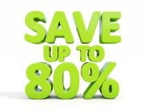 Salvar até 80% Fotografia de Stock