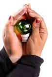 Salvar a energia Fotos de Stock Royalty Free