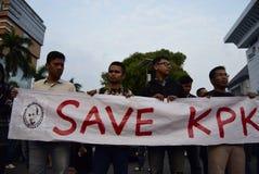 Salvar KPK para Indonésia Foto de Stock Royalty Free