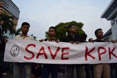 Salvar KPK para Indonésia Imagens de Stock Royalty Free