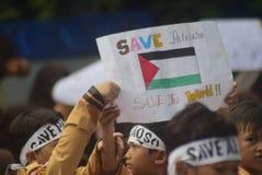 Salvar o aqsa de Palestina e de al Fotografia de Stock