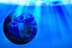 Salvar o conceito da água, dia da água do mundo Imagens de Stock