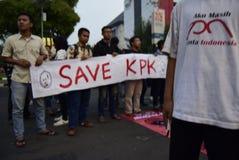 Salvar o kpk para Indonésia Imagens de Stock Royalty Free