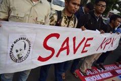 Salvar o kpk para Indonésia Foto de Stock