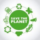 Salvar o planeta Imagens de Stock Royalty Free