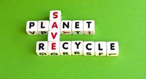 Salvar o planeta foto de stock