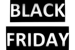 Salvaschermo di Black Friday da vendere la stagione Fotografie Stock Libere da Diritti