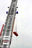 Salvataggio dalle altezze Fotografia Stock Libera da Diritti