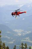 Salvataggio dell'elicottero Fotografia Stock